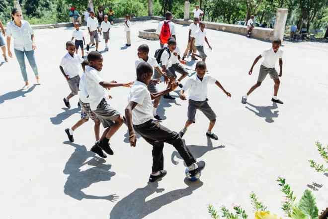 TOMS giving in Haiti3