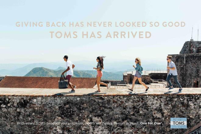 Welcome TOMS SS15 - landscape