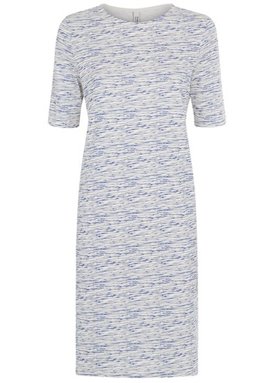 People Tree Sarita Dress - Blue Was£65.00 Now £52.00