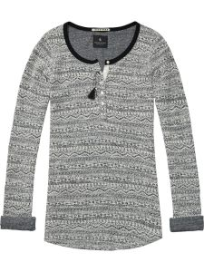 Maison Scotch Grandad Top