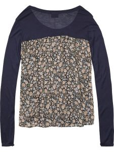 Maison Scotch Jersey Front Top