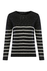 Komdo Lindy Freckle Organic JumperStripe £60.00  luxuriously soft organic cotton jumper, the stripes lend a nautical-inspired feeling that make it an instant classic, not only for winter